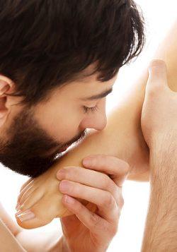 Füße küssen