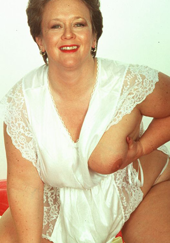 Reife Rubensfrau
